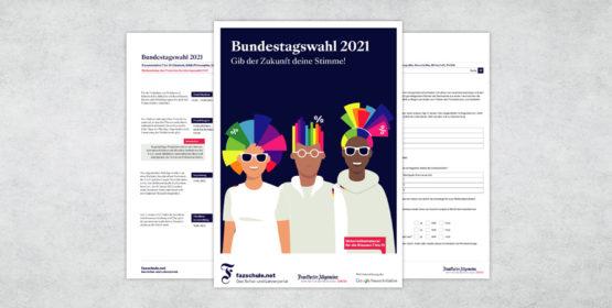 Bundestagswahl 2021 Material